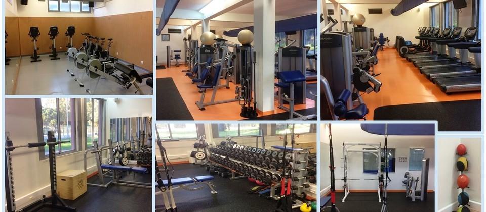 Academia de Fitness - Vista geral
