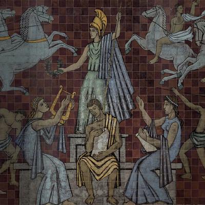 Painel Cerâmico de Júlio Santos (1956)