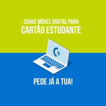 Chave Móvel Digital para Cartão de Estudante