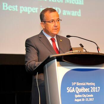 Jorge Relvas primeiro português a ser distinguido com a SGA-KGHM Krol Medal